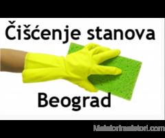 Čišćenje stana, kuće - usisavanje, brisanje
