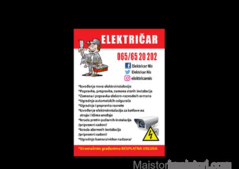 Elektro radovi...
